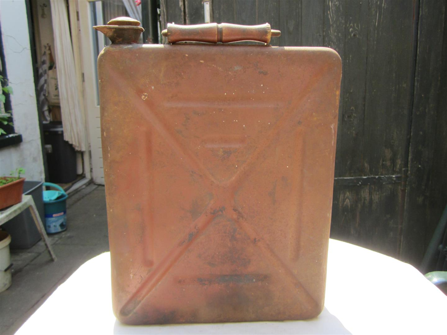 WW2 German 8cm Mortar Ammo Box/Jerry Can